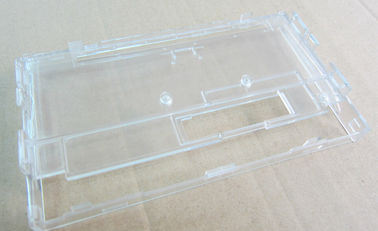 China Mechanical CNC Plastic Machining PC Clear Plastic Parts Polishing Rapid Prototyping supplier