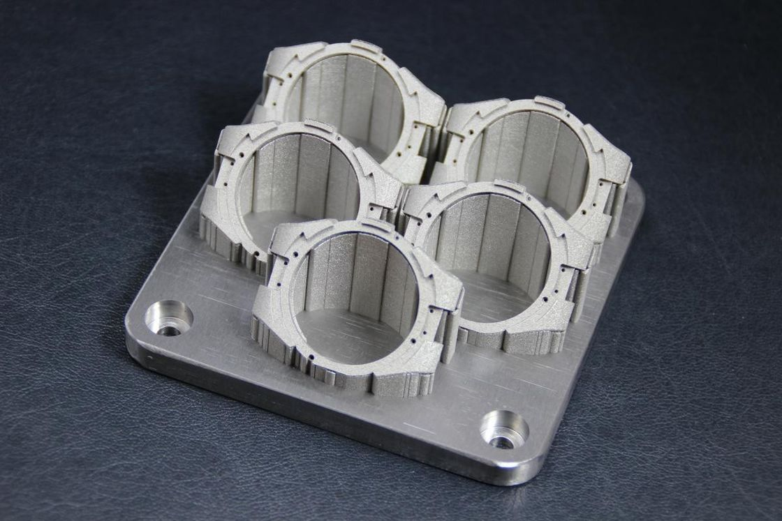 Sandblasting Color Anodized Stainless Steel CNC Machining