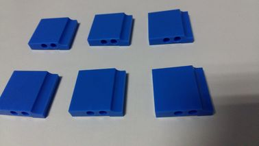 China Professional CNC Plastic Machining Polishing Blue POM Parts distributor