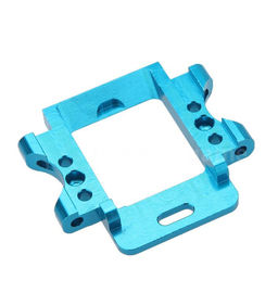 China anodize blue color cnc milling aluminum 6061 metal parts rapid prototype distributor